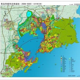 青岛市总体规划 = 青岛市规划局