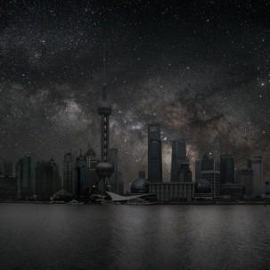酷摄影:星光点亮的城市
