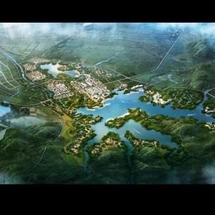 南阳麒麟湖区域战略规划. 顶级优秀城市规划案例PDF117页
