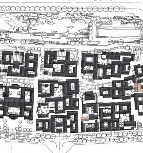 商业街总平面图案例