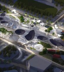 台南主站区重建项目二等奖\ Maxthreads建筑规划与设计