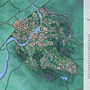 泉州市惠安县惠西新城城市设计