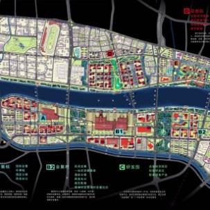 广东省广州琶洲-员村地区城市设计竞赛——J16
