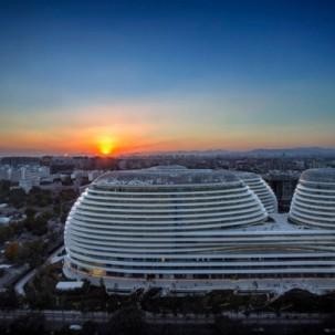 北京老城区的最大城市综合体Galaxy Soho