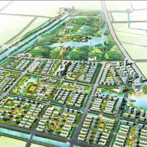 扬州市南部新城区城市设计——K21