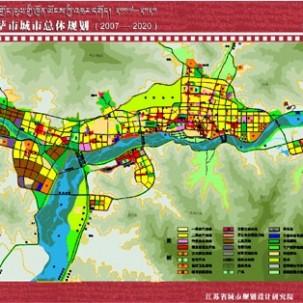 【西藏自治区】拉萨城市总体规划(2007—2020)——X04