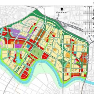 宁波市江北姚江新区概念规划及城市设计