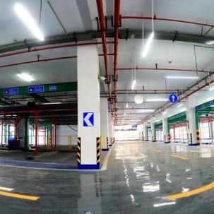涪陵区第一个机械化停车场建成使用