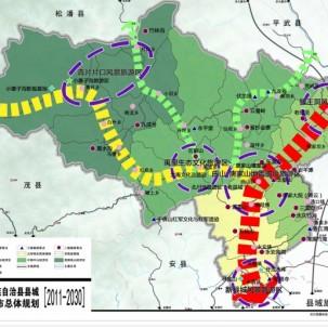 北川总体规划