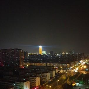 郑州的一天,也可以是那么蓝