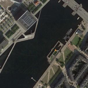 滨水区设计|哥本哈根港湾浴场