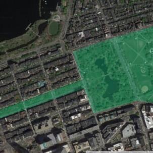 公园设计 波士顿公园体系