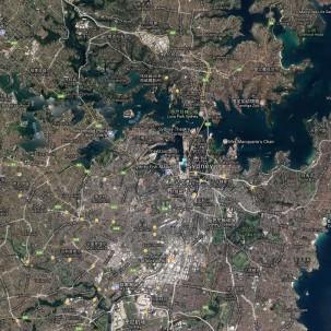 滨水区设计|悉尼达令港