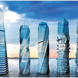 迪拜旋转塔——D09