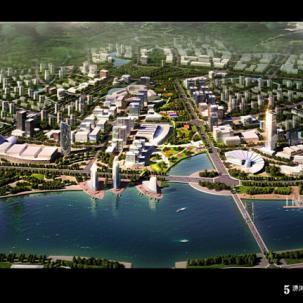 安徽省六安市淠河城市滨水地区城市设计方案征集——J14
