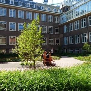 荷兰阿姆斯特丹大学Roeterseiland校园景观设计项目