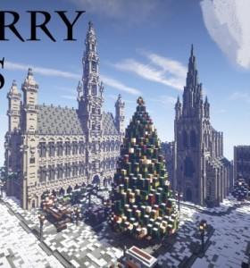 冬日小镇Minecraft