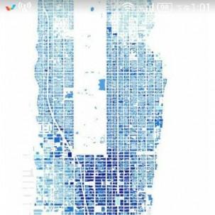 这种城市肌理的分析图怎么做呢?首先高清的