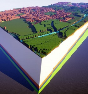 Minecraft的新应用:地质结构教学