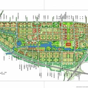 北京通州新城南部城区城市设计——K04