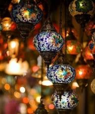 漂亮的琉璃灯