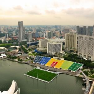 新加坡海湾漂浮体育场——可标记