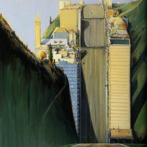 Wayne Thiebaud 超现实主义绘画 |盗梦空间