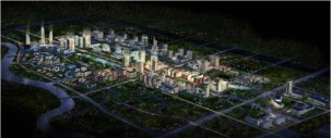 成都南部新区启动区概念规划