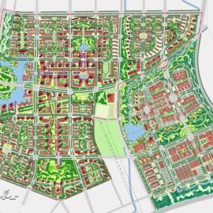 南京市江宁区上坊组团概念性规划及中心区城市设计——K11