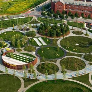 绿地景观|NAVY YARDS中央绿地