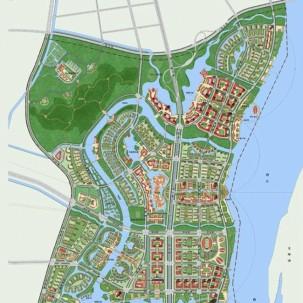 begin)广东佛山高明区西江新城规划及城市设计——KO1