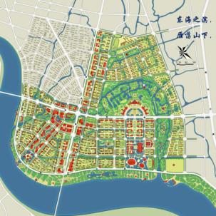 鳌江中心区城市设计