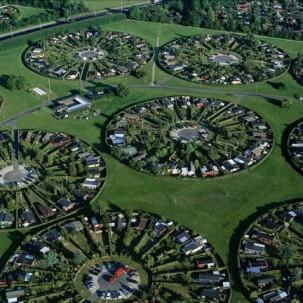 丹麦哥本哈根圆圈村落——可标记