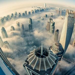 迪拜最近又建新高楼,人类继续向天空发展