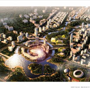 江西省萍乡新城概念规划及城市设计国际竞赛——J01