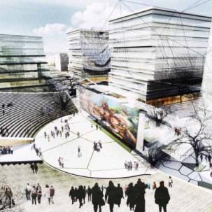 中国上海虹桥机场中央商务区 / UA Studio7+ Aedas