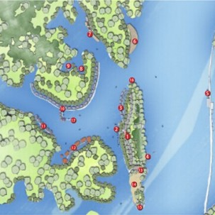 清远飞来岛游艇会概念设计方案