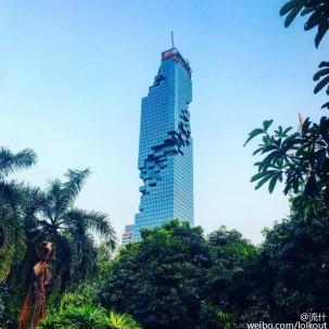 曼谷 MahaNakhon 大厦 你觉得好看不