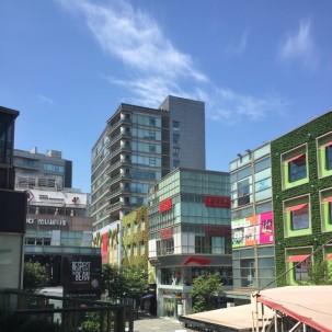 上海城市几个大型商业街调研