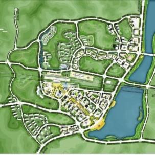 广东省云浮西江新城重点片区概念规划设计国际竞赛——J10